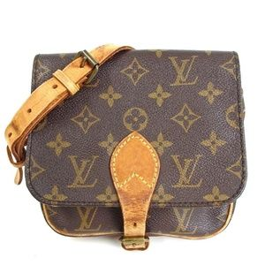 Auth Louis Vuitton Cartouchiere PM Bag 218LCB155